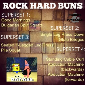 rock hard buns workout